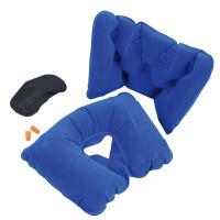 Дорожный набор для путешествий: подушка, беруши, маска для сна
