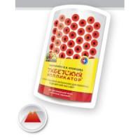 Массажер Тибетский иппликатор, для поясницы, магнитный красный