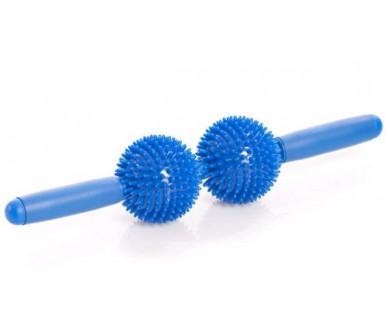 Мячи игольчатые с ручкой (2 больших мяча) Trives М-402