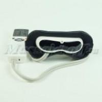 Массажер для глаз (массажные очки) Pangao PG-2404C2 (вибрация, давление, нагрев, LED-дисплей)