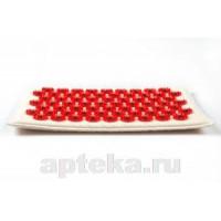 Иппликатор тибет массаж на мягк подлож /красн 17х28