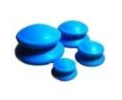 Банки для массажа из антиаллергенной резины МЕД-КИТ
