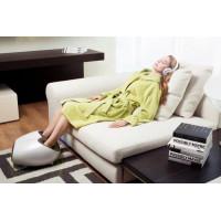 Массажер для ног Amma Relax Foot (белый с зеленой окантовкой)