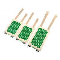 Иппликатор-массажер мед.Тибетский комплект для обертывания антицеллюлитный, зеленый (Выберите размер: M)