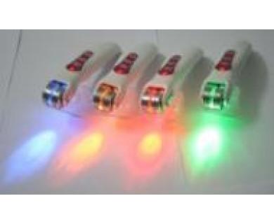 Дермароллер - Мезороллер Красный свет 486 микро-игл