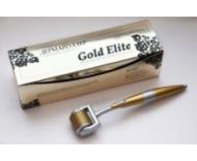 Дермароллер Мезороллер Gold Elite GoldMT10+