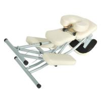 Массажное кресло Belberg (алюминий DE LUXE) стул массажиста (черный)