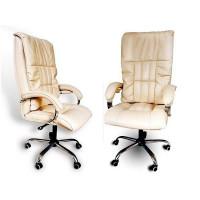 Офисное массажное кресло Ego Boss бежевое