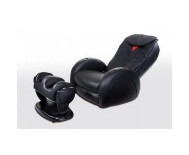 Массажное кресло Casada Smart 3 + Ottoman (черный)