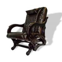 Массажное кресло-качалка EGO Balance EG-2003 LUX Standart (арпатек), цвет Шоколад