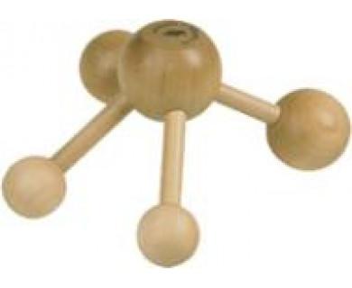 Краб, массажер, деревянный, универсальный