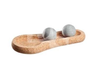 Массажные камни из талькомагнезита Hukka Solejoy
