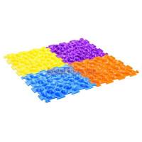 Массажный коврик «Цветные камешки» (Жесткий) М-516