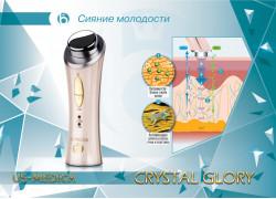 US MEDICA Гальванический массажер Crystal Glory