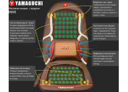 Yamaguchi Drive - автомобильная массажная накидка