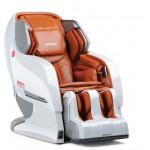 Японское массажное кресло для дома YAMAGUCHI Axiom YA-6000 (бело-черное)